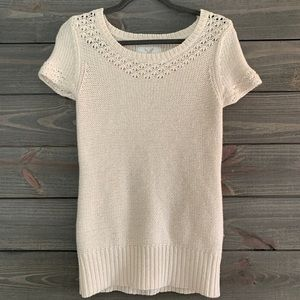 American Eagle Short Sleeve Sweater